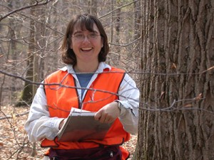 Photo of biological technician Dawn Miller.